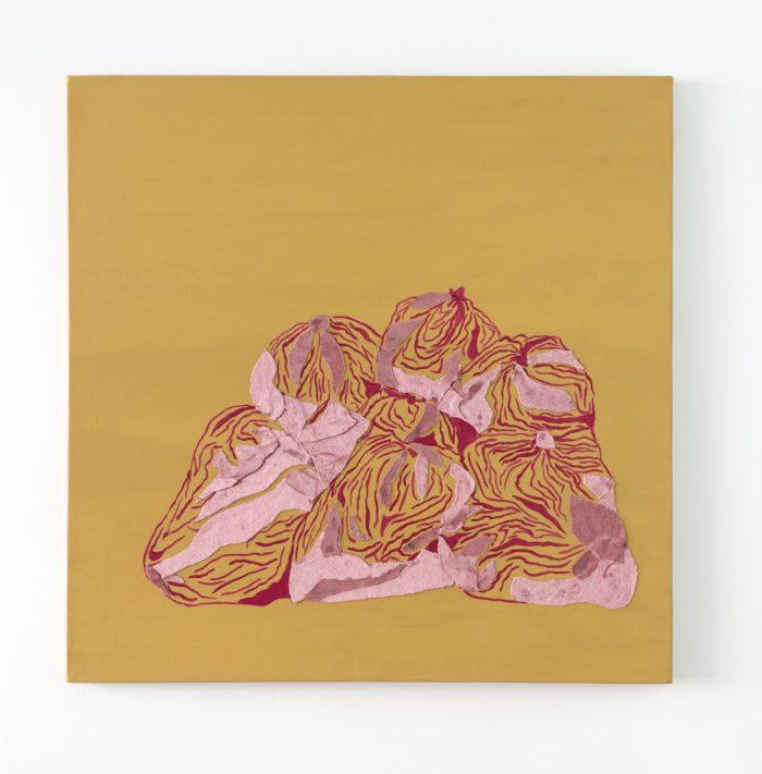 abstracto, organico, collage, tecnica mixta, Artista latinoamericano, Maria Paula Suarez